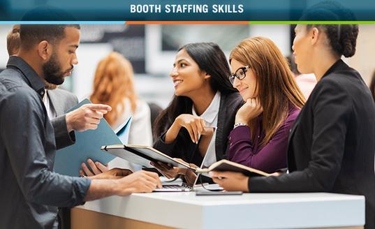 booth staffing exhibiting skills education seminar skyline midwest training