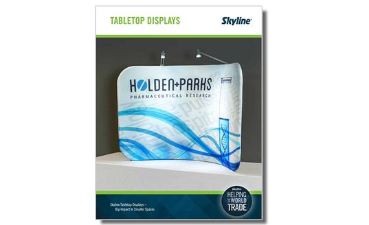 Tabletop Displays Brochure