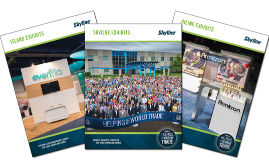 Learn more about what innovative new products Skyline Exhibits has to offer!