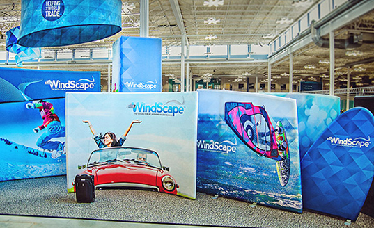 Skyline WindScape inflatable exhibit