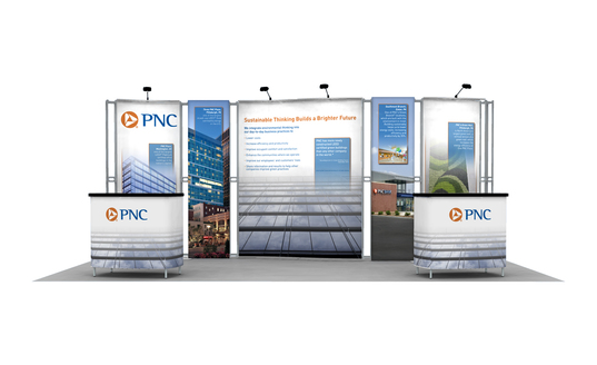 PNC trade show booth by Skyline Pittsburgh