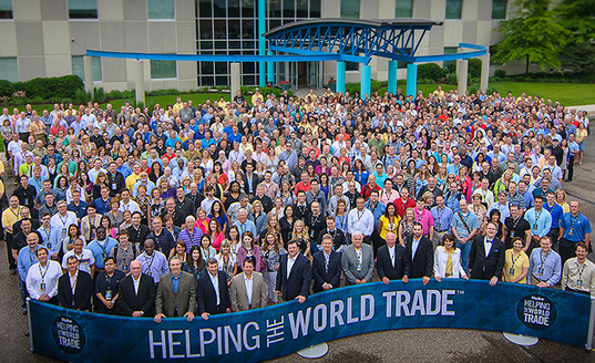 Skyline Exhibits world wide team of trade show marketing and design consultants