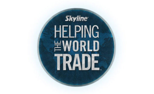 Skyline Helping the World Trade