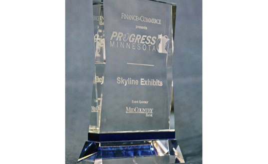 Progress Minnesota Award Winner Skyline Exhibits