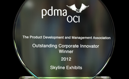 Skyline Exhibits 2012 Outstanding Innovator Award PDMA