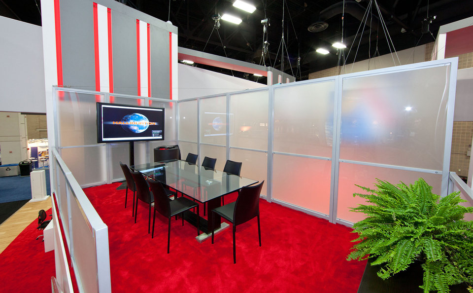 trade show conference booth design