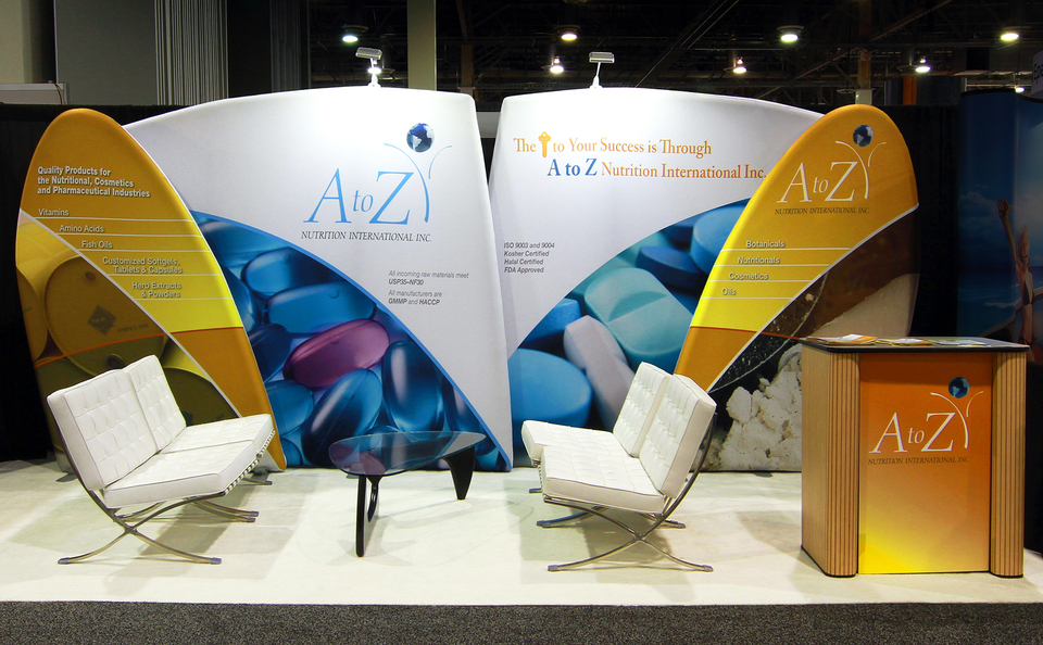 trade show events booth design