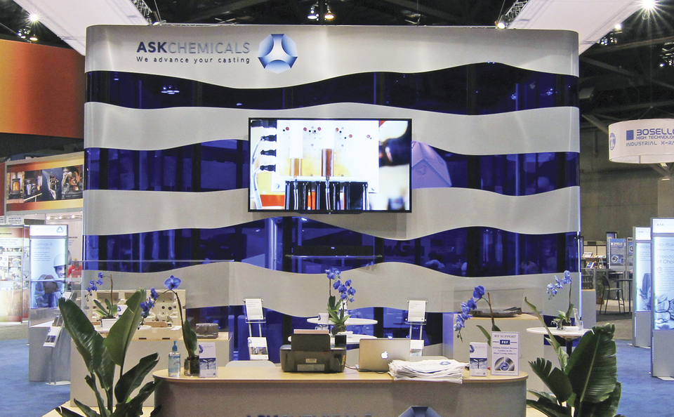 Exhibitor Booth Setup : Ask chemicals