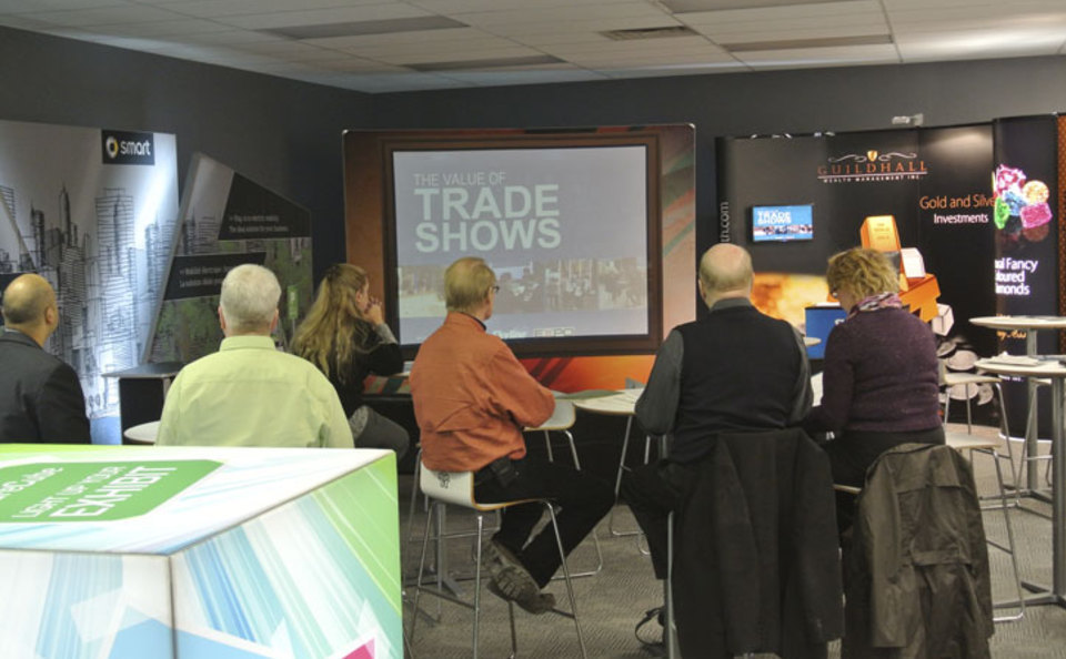 Trade show marketing seminars at Skyline Toronto