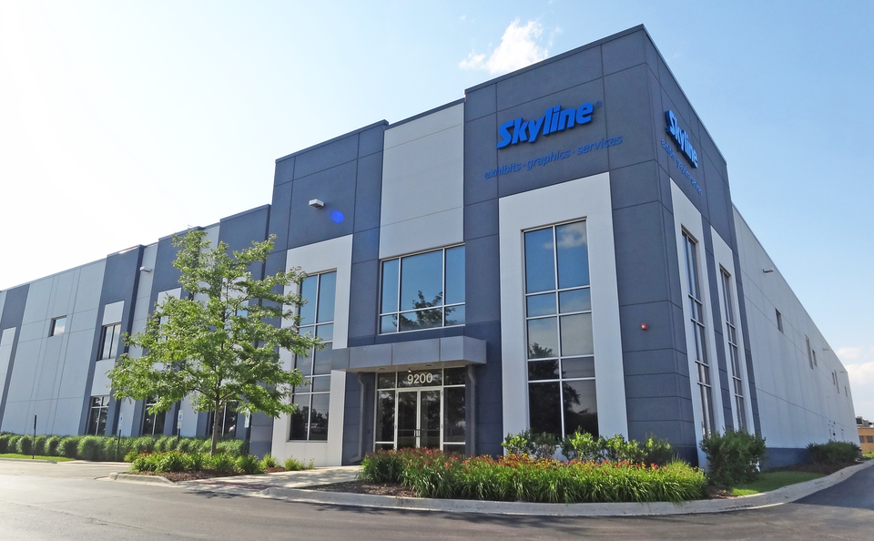 Skyline Exhibits Chicago is Located in McCook, Illinois and Serves the Downtown Chicagoland Area for Trade Show Needs