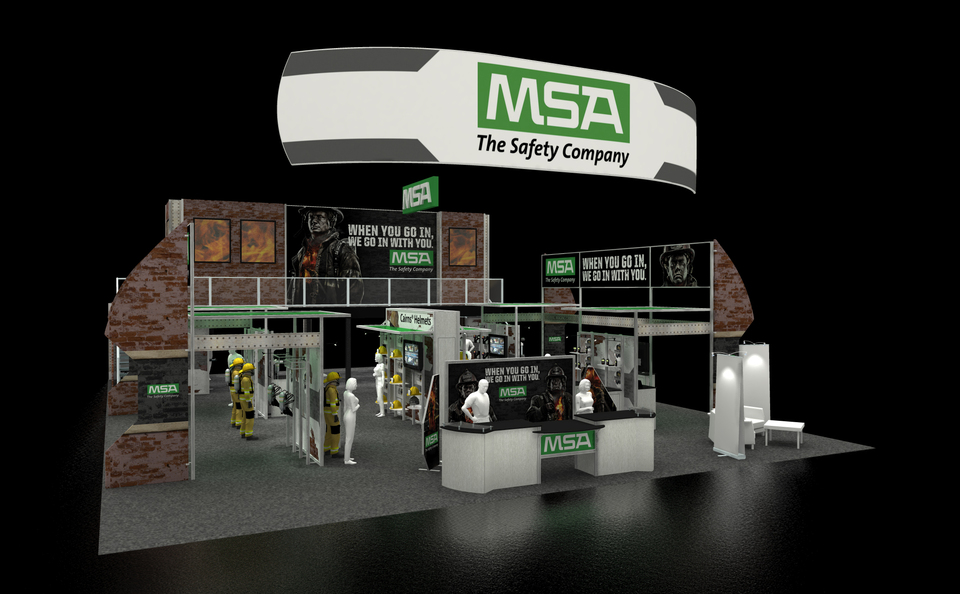 MSA Exhibit Design Rendering