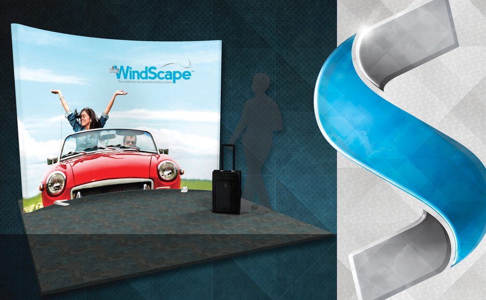 Skyline Philadelphia offers Skyline WindScape, the Easiest Trade Show Display to Install, Dismantle, and Exhibit With