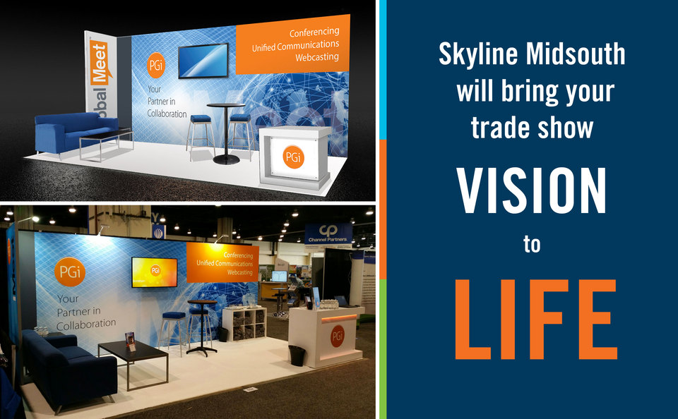 Skyline MidSouth will Bring Your Trade Show Vision to Life