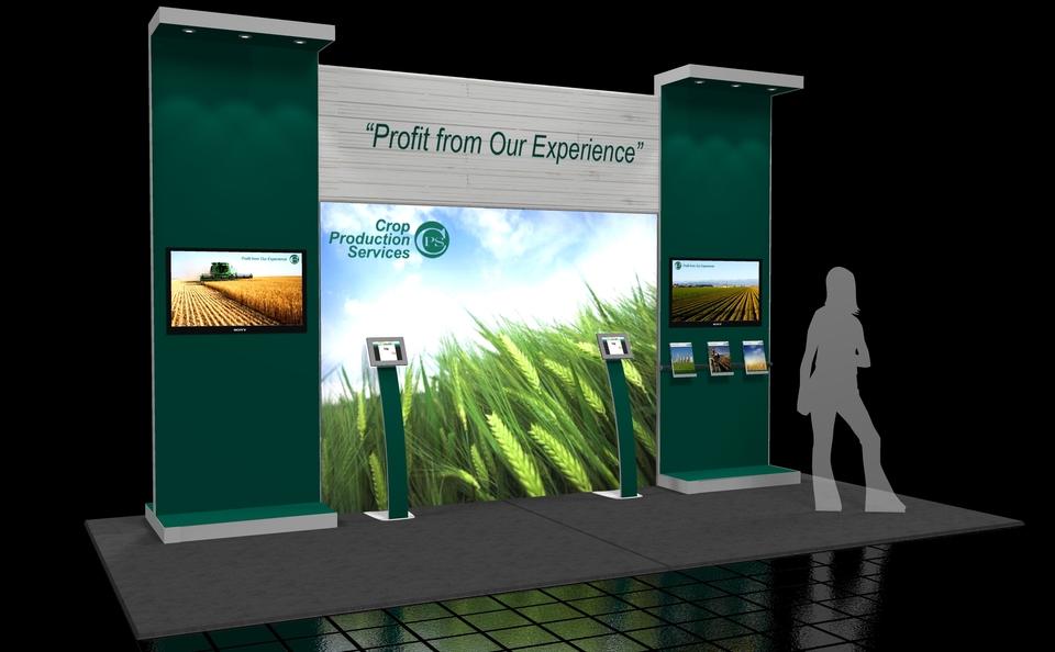 Trade Show Booth Edmonton : Skyline exhibits alberta