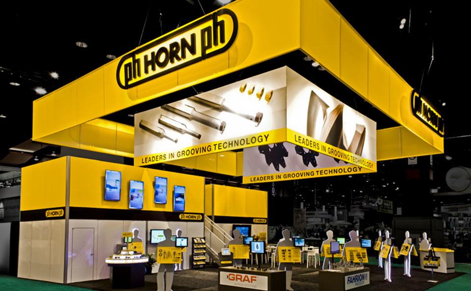 Chicago TradeTec Horn Trade Show Exhibit