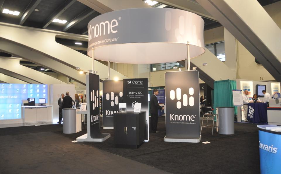 Skyline Northeast Knome trade show custom island