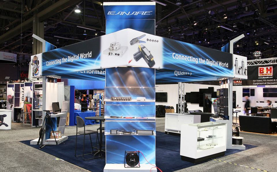Skyline Exhibits New Jersey Canare trade show booth