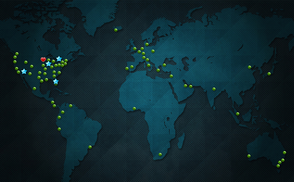 Skyline Worldwide Distributor Network