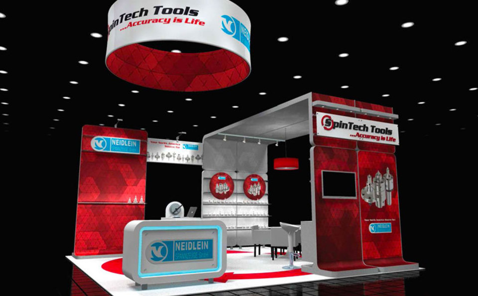 SpinTech 20x20 Custom Trade Show Exhibit