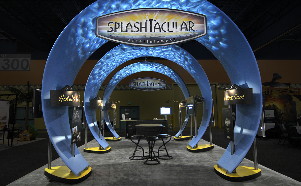 Exhibition Stand Making : Splashtacular