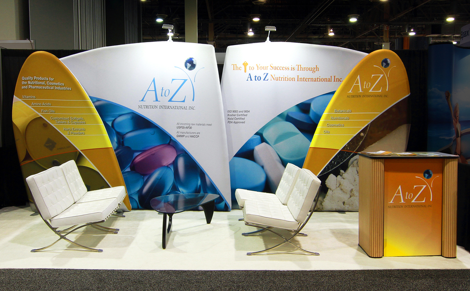 Exhibition Booth Backdrop : Portable trade show displays portable trade show booths