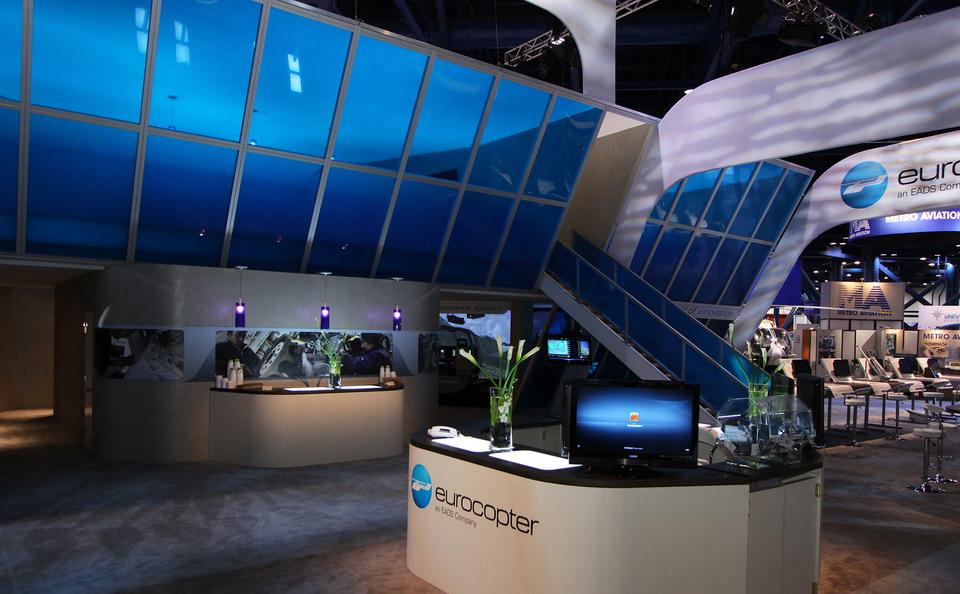 各种展会展位、展具和展板 — Skyline