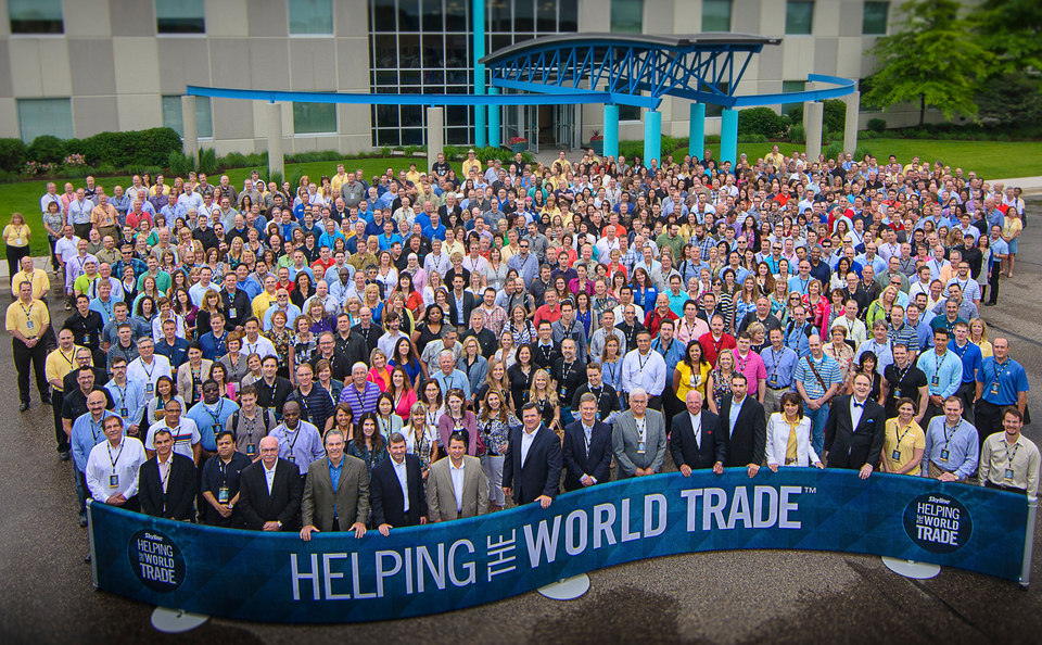Skyline Exhibits Worldwide Team of Trade Show Professionals Helping the World Trade