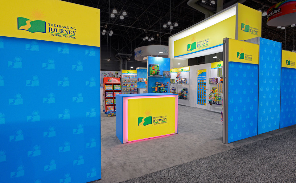 Custom Trade Show Product Displays for The Learning Journey by Skyline Southwest in Phoenix AZ