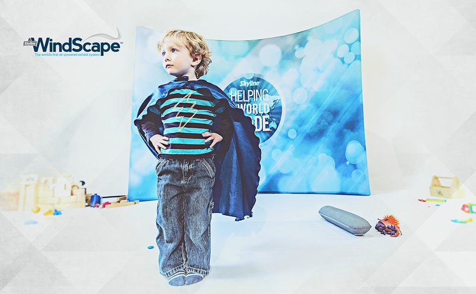 WindScape trade show exhibits