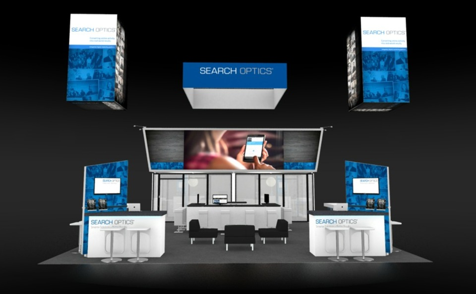 Search Optics Trade Show Display at NADA 2016 by Skyline San Diego