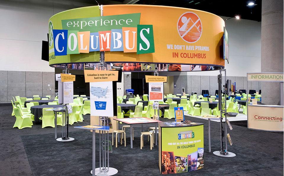 Experience Columbus Trade Show Exhibit