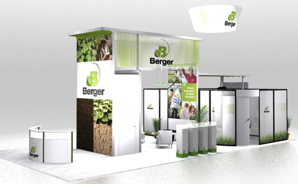 Berger 20x40 Exhibit Design