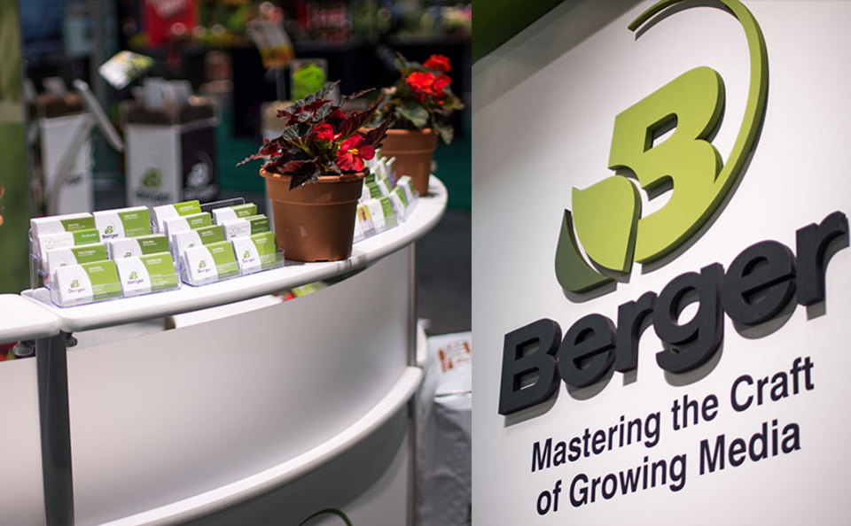 Berger 20x40 Trade Show Exhibit