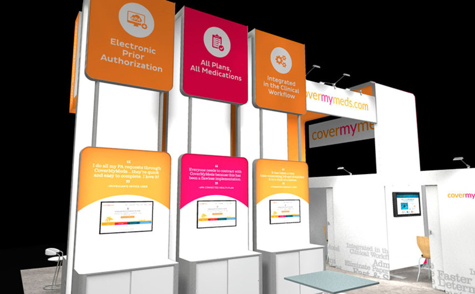 covermymeds 30x30 trade show rendering