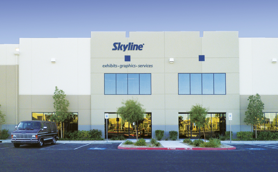 skyline exhibits service center Las Vegas for BC exhibitors