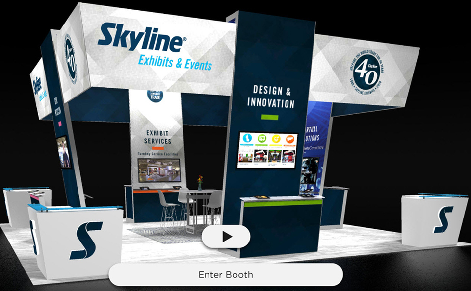 skyline exhibits chicago island virtual booth example