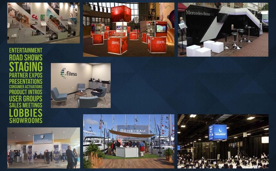 Budget Greenville SC Trade show graphics