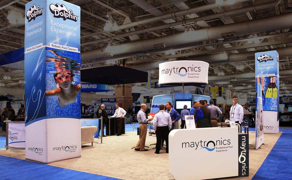 trade show events display windscape