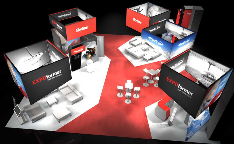 trade show events booth windscape