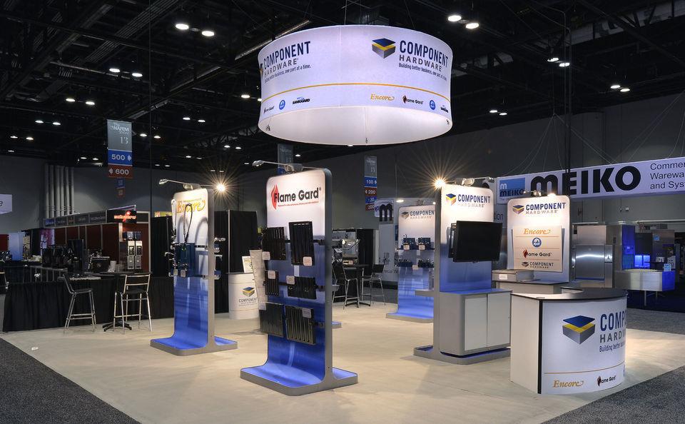 Skyline New Jersey, Component Hardware trade show island