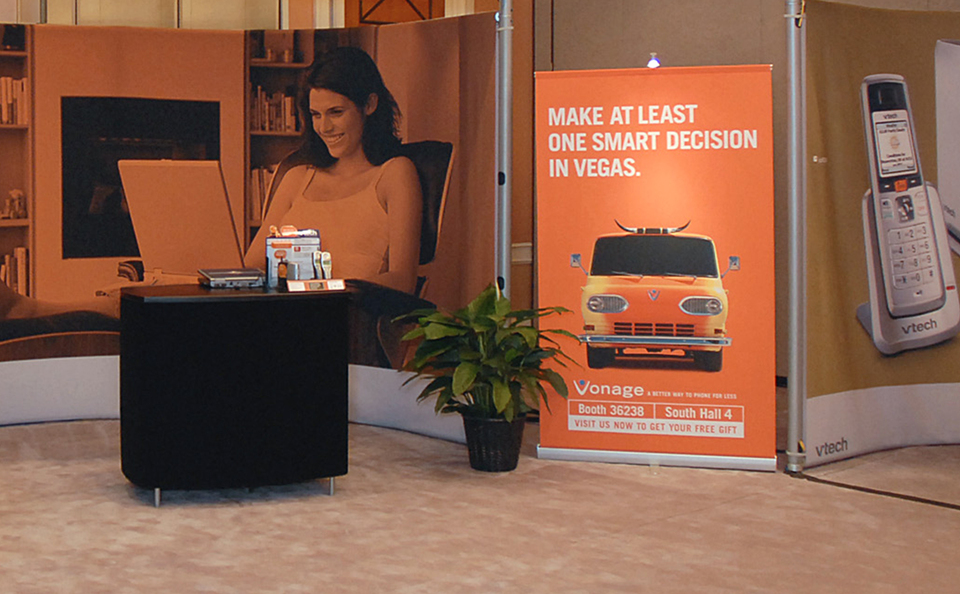 trade show events display bannerstand 3000R