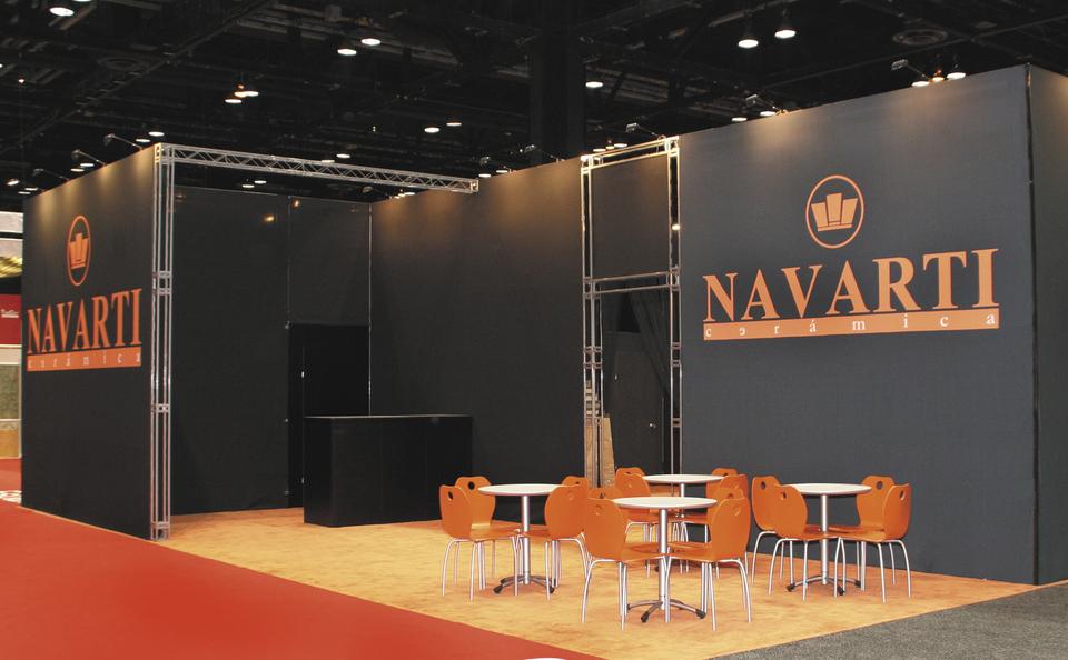trade show events design island inliten