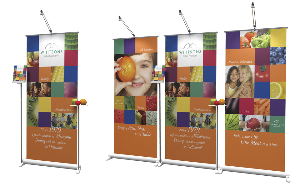 trade show banner stand display myriad