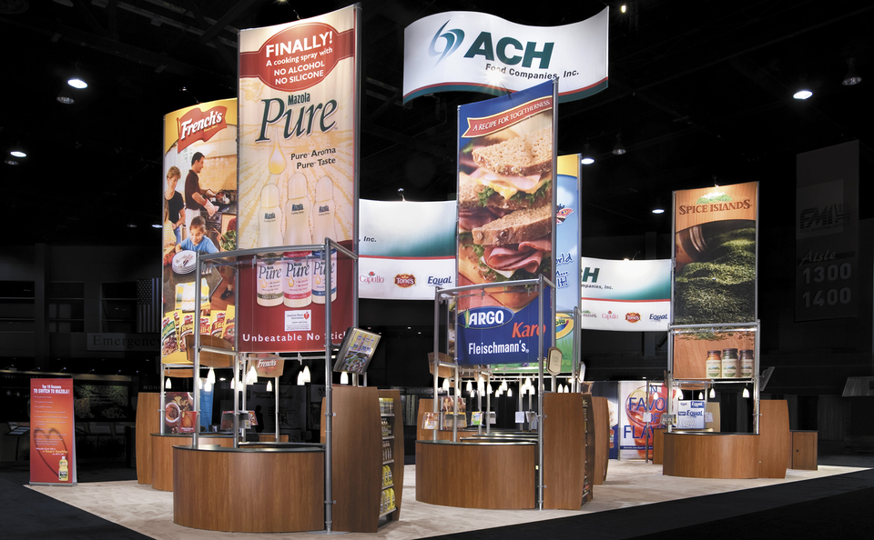 trade show events booth rental