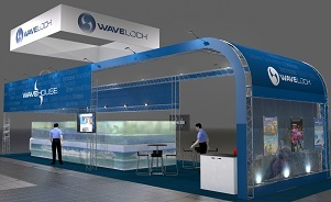 WaveLoch trade show exhibit design by Skyline San Diego