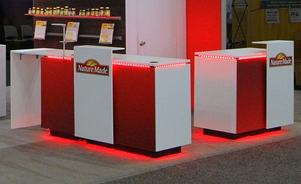 Tablox trade show display counter