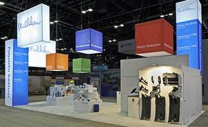 Trade show rental exhibit displays