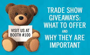 tradeshow giveaways gifts exhibiting