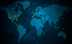 The Skyline Global Dealer Network supports and helps Skyline clients at shows around the country and around the world