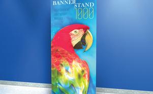 bannerstand 1000 tradewinds skyline rollup